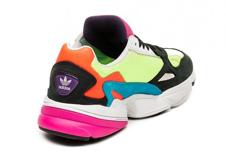 new arrival 853a6 fcf31 adidas Falcon Women s Neon CG6210 Release Info   SneakerNews.com