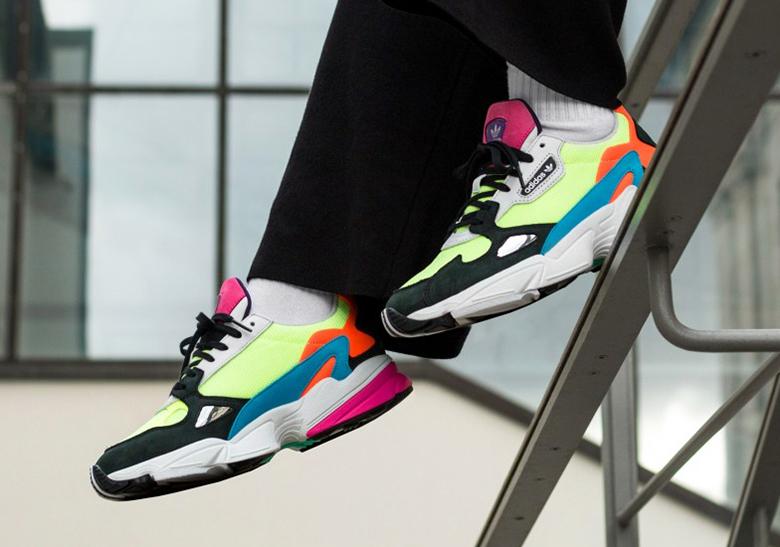 adidas Falcon Women's Neon CG6210 Release Info | SneakerNews.com