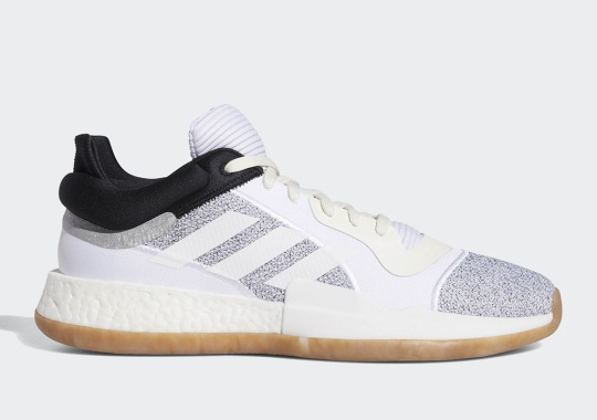 The adidas Marquee Boost Low Is Available In Two New Colorways With Gum Soles