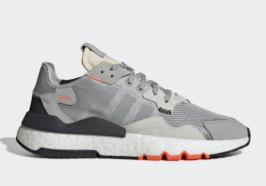"adidas Nite Jogger ""Clear Orange"" Release Preceded By ""Nite Goods"" Giveaway In NYC"