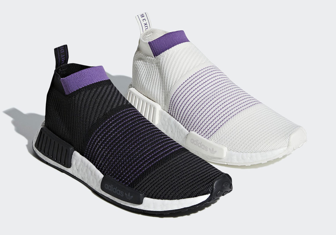 "d3330c5f9 The adidas NMD City Sock Returns With The ""Purple Pack"""