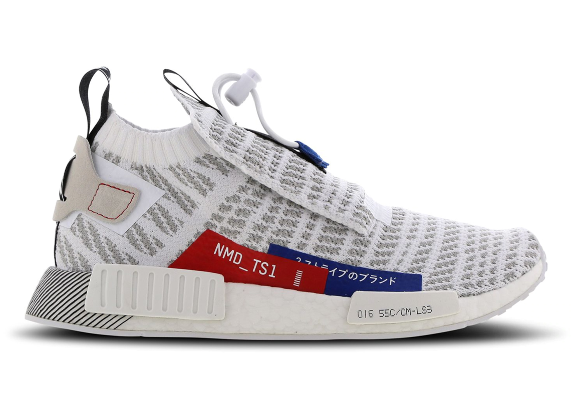 online retailer 2747f 100d9 adidas NMD TS1 Japan White Red Blue Release Info ...