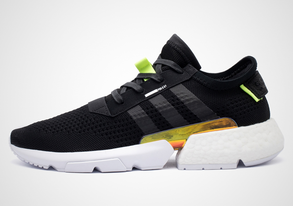 best sneakers 9904c 9a4af adidas POD s3.1 Reveals An Iridescent Midfoot Plate For April