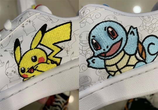 First Look At The adidas Pokemon Collaboration