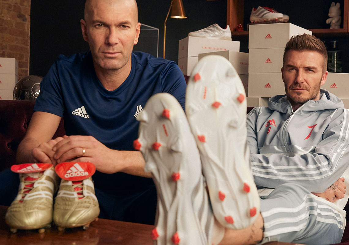 537fe4e93809 adidas Celebrates 25 Years Of The Predator With David Beckham And Zinedine  Zidane