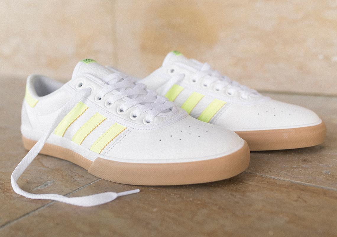 adidas Skateboarding Lucas Premiere footwear white hi res yellow gum