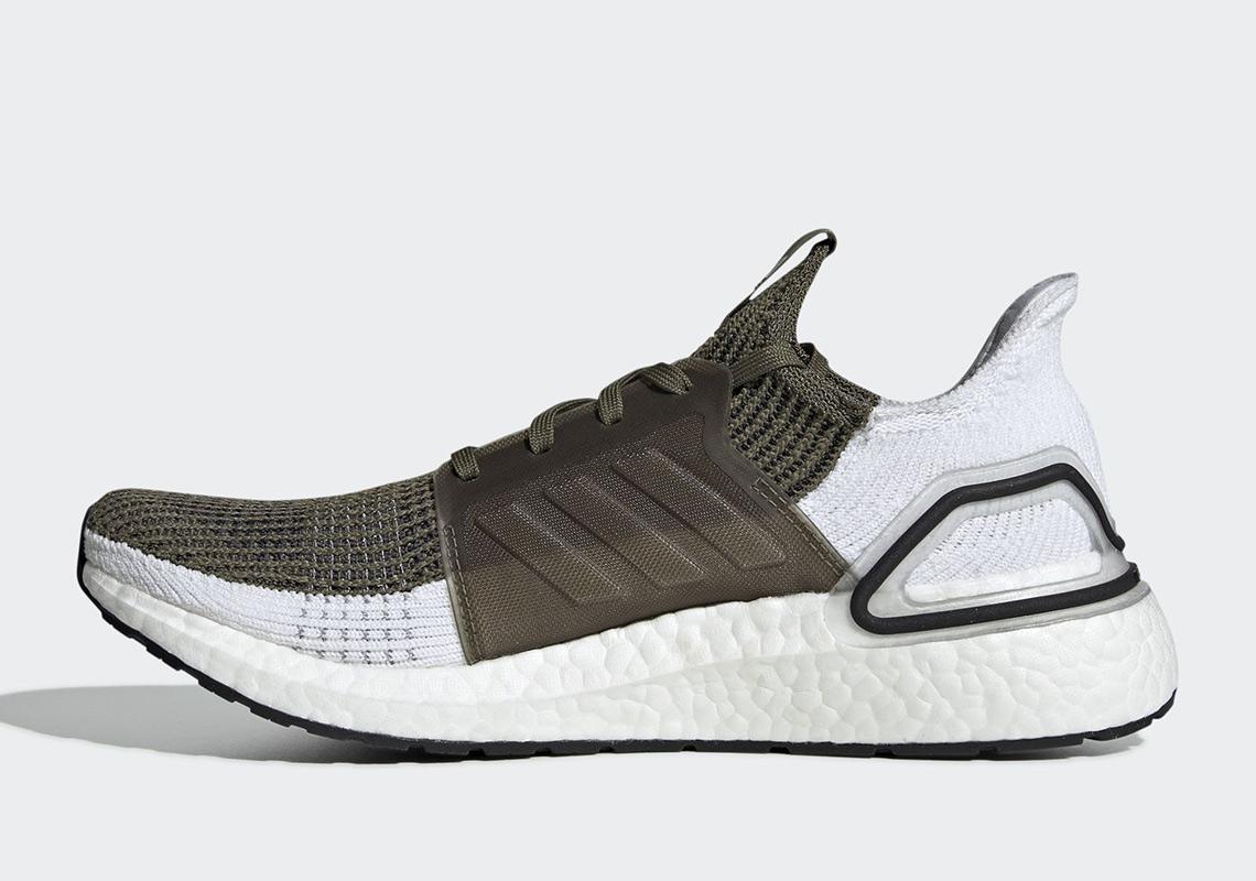 "Adidas UltraBoost 2019 Gets Dressed In ""Raw Khaki"""
