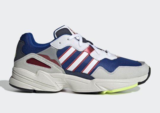 The adidas Yung-96 Offers Up Navy And Red