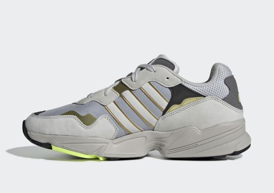 The adidas Yung-96 Is Releasing Soon In Grey And Gold