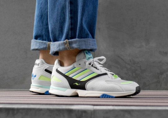 7d5436dce238 adidas Brings Back The ZX4000 In Its Original Colorway