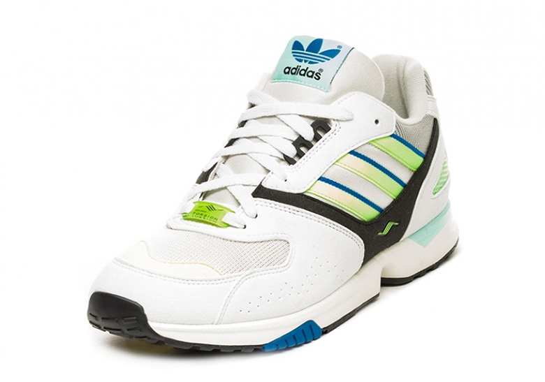 adidas ZX4000 OG White Blue Volt G27899 Info  452da76f2