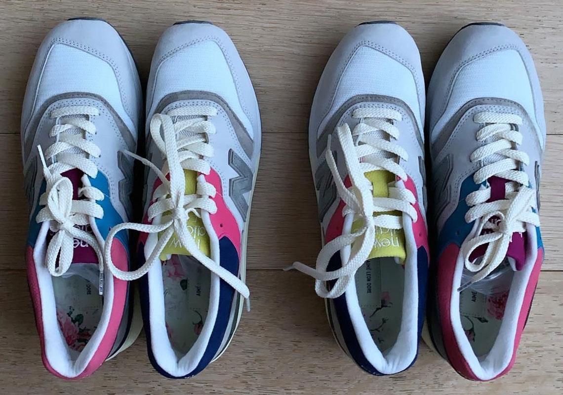 new balance x aim茅 leon dore m997
