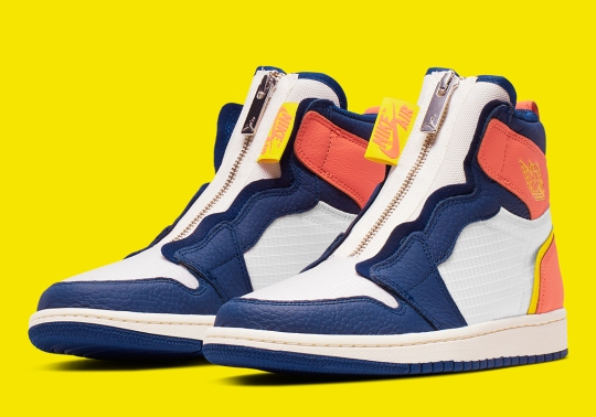 The Air Jordan 1 High Zip Appears In Alternate OKC Colors