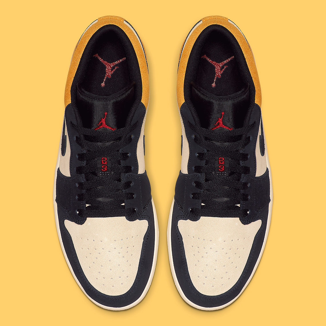 4dc49877e5e5 Air Jordan 1 Low Release Date  Summer 2019  110. Color  Sail Gym Red- University Gold-Black Style Code  553558-127