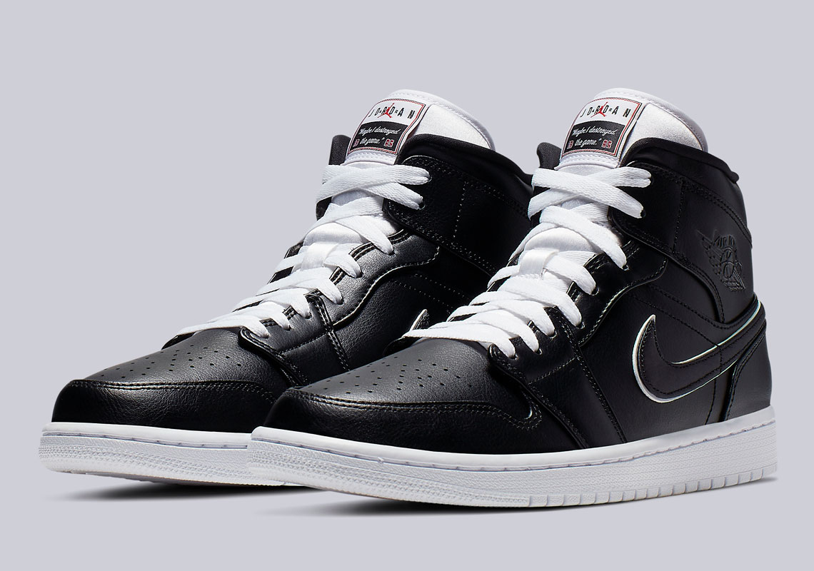 "19c80ba5127 These Air Jordan 1 Mids Were Inspired By Jordan Brand's ""Maybe It's My  Fault"" Commercial"