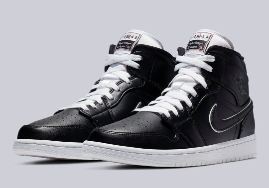 """These Air Jordan 1 Mids Were Inspired By Jordan Brand's """"Maybe It's My Fault"""" Commercial"""