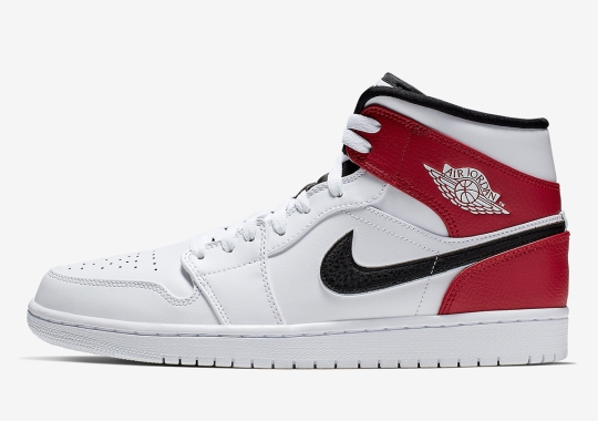 1c3a1088c Another Chicago Style Remix Arrives On The Air Jordan 1 Mid