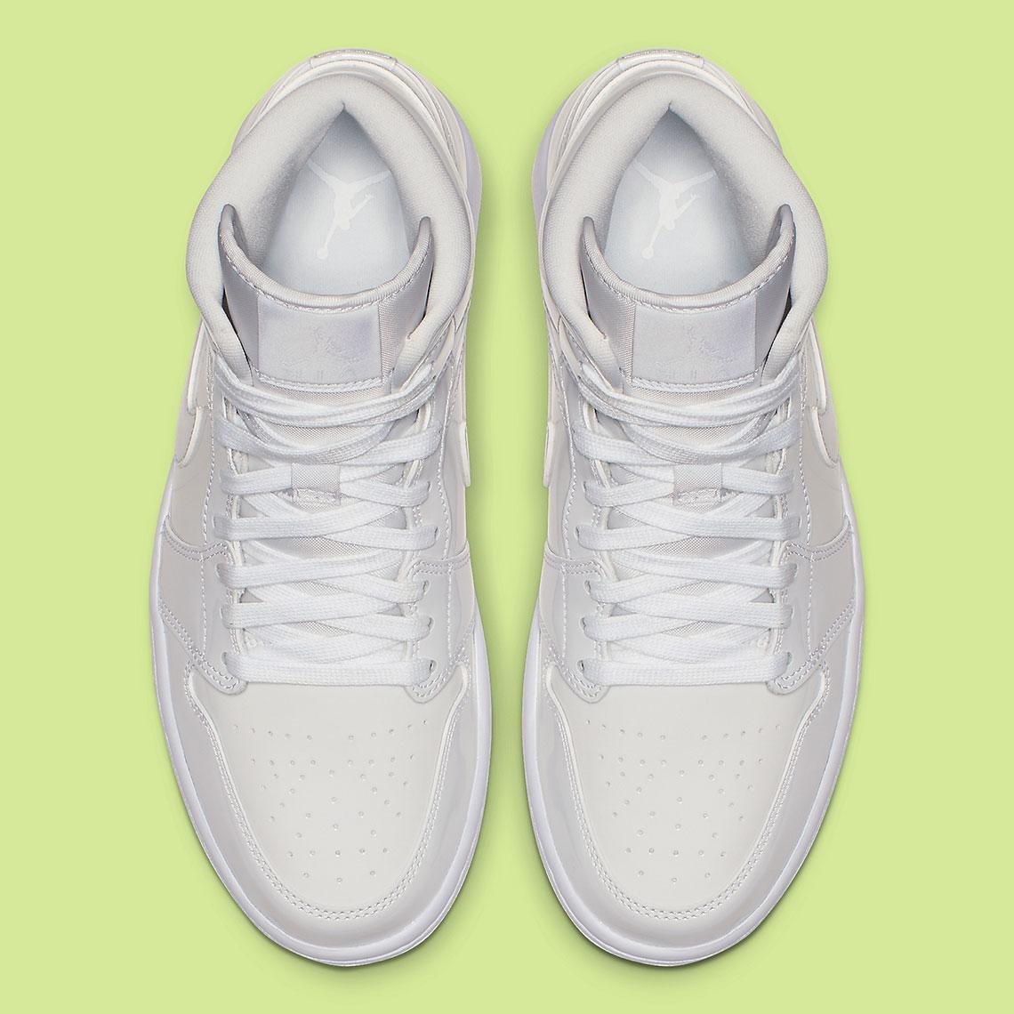 "best authentic e90c8 48f66 Air Jordan 1 Mid ""White Patent""  120. Style Code  BQ6472-111.  Advertisement. Advertisement"