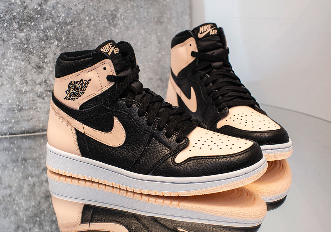 "645f95b082b7 The Air Jordan 1 Retro High OG ""Crimson Tint"" Releases On April 13th"