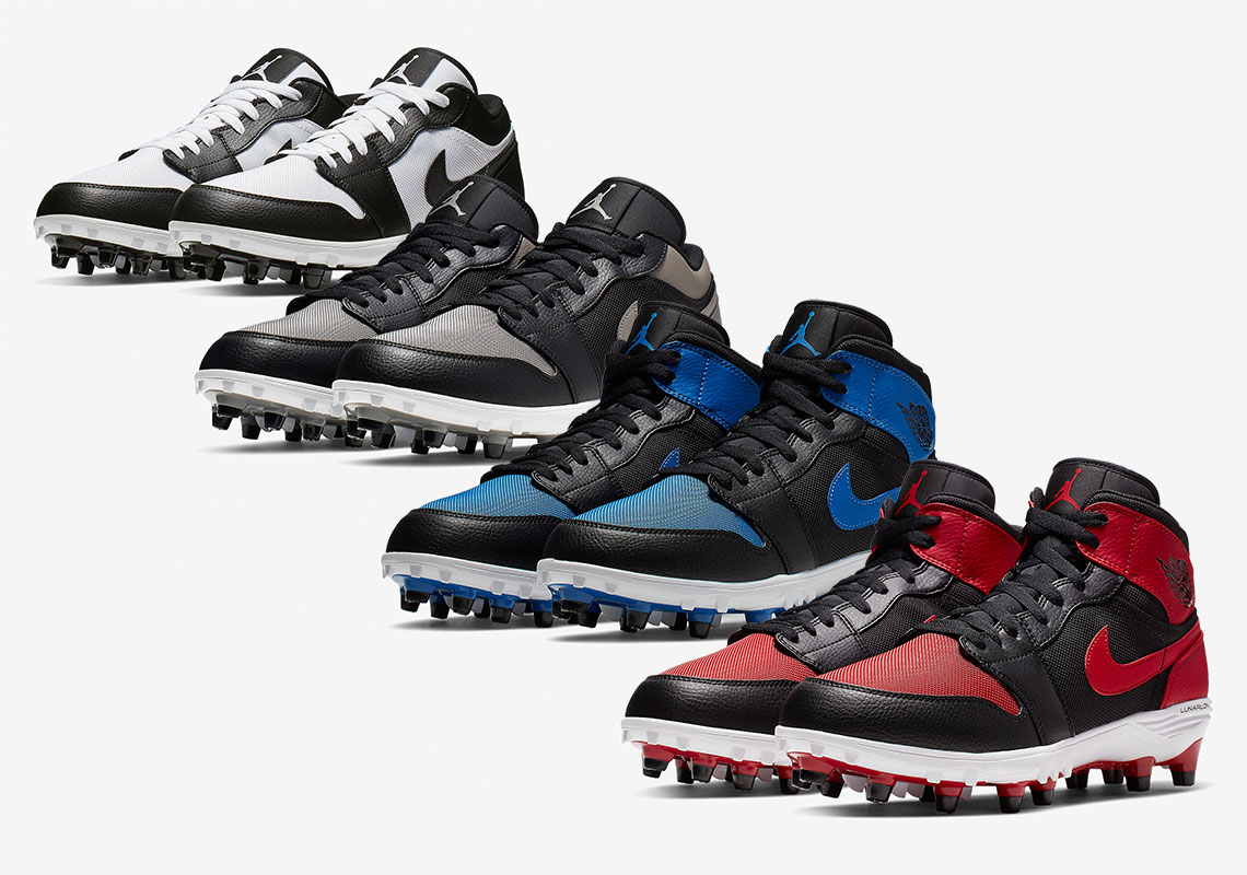 Air Jordan 1 Football Cleats Release Info Sneakernews Com