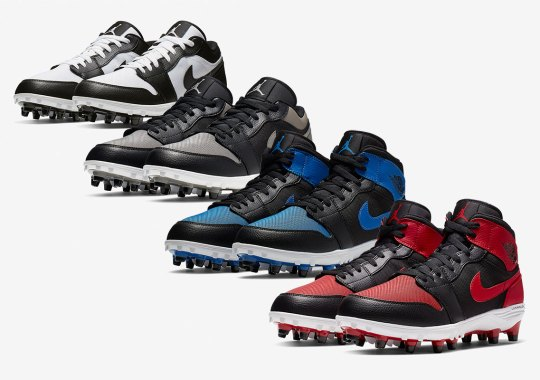 Original Air Jordan 1 Colors Return As Football Cleats