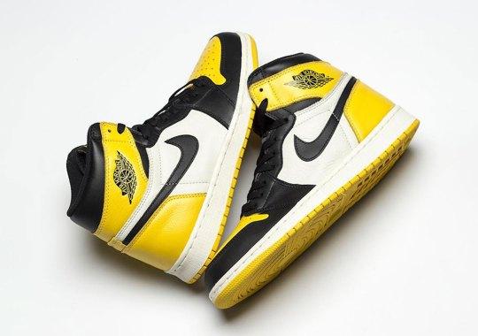 "84cd7da6d4d The Air Jordan 1 Retro High OG ""Yellow Toe"" Will Release This Summer"