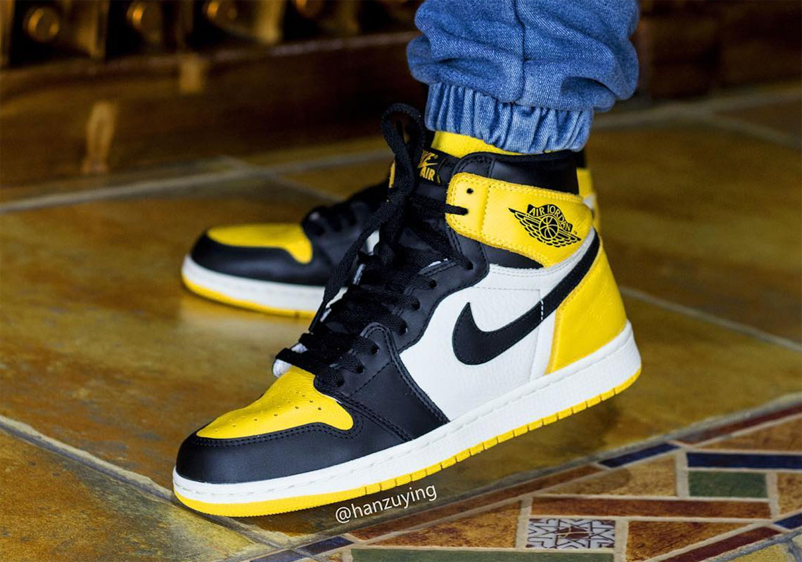 air jordan 1 yellow