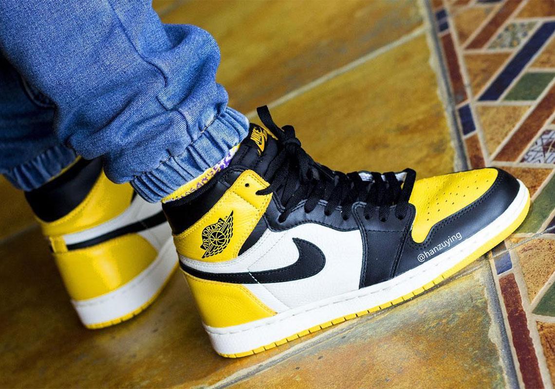 Air Jordan 1 Yellow Toe AR1020-700