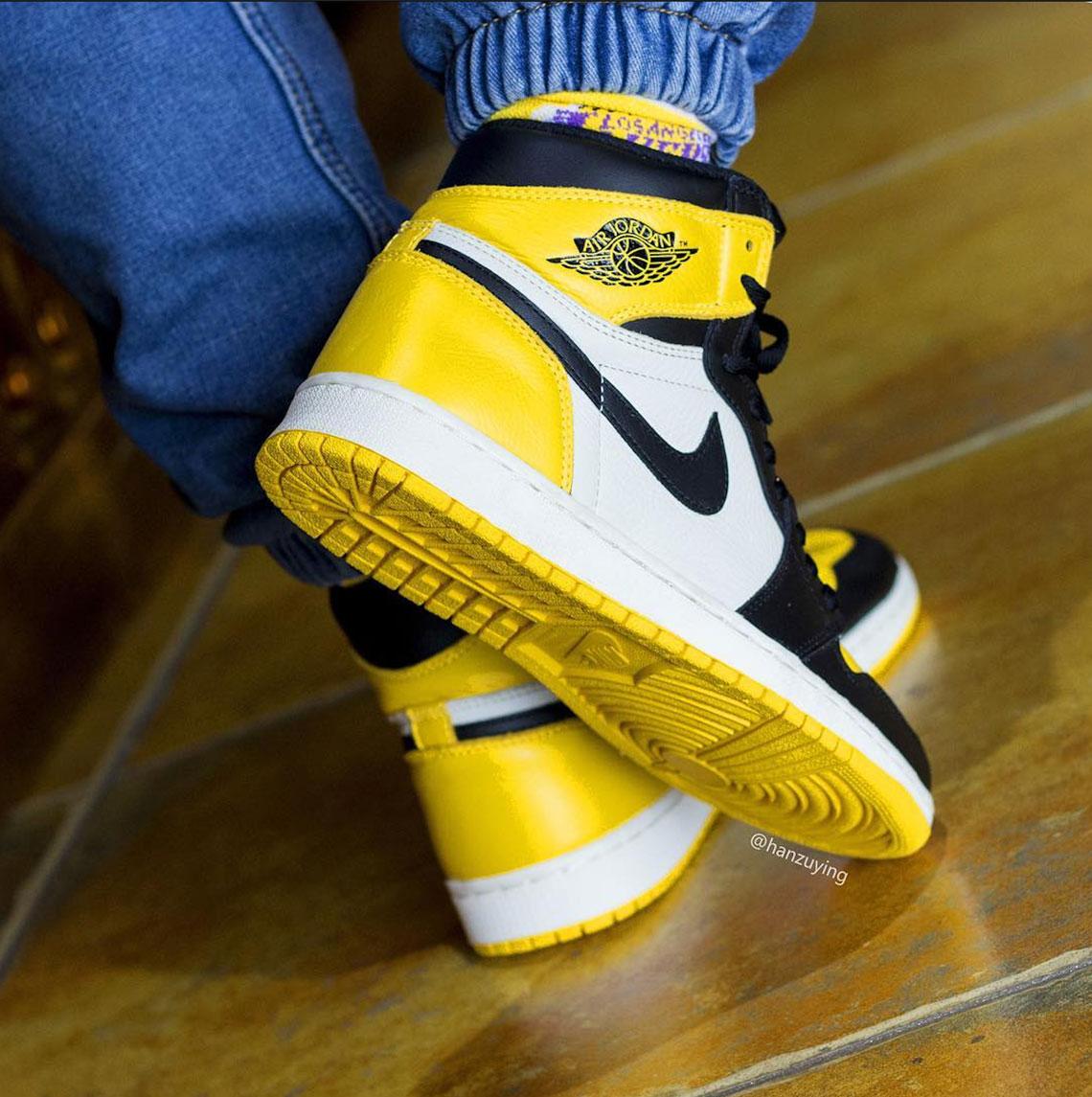 Air Jordan Release Info 700 1 Ar1020 Yellow Toe 2Y9EHDIW