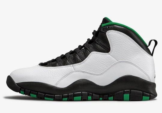 """Air Jordan 10 """"Seattle"""" Returning In October"""