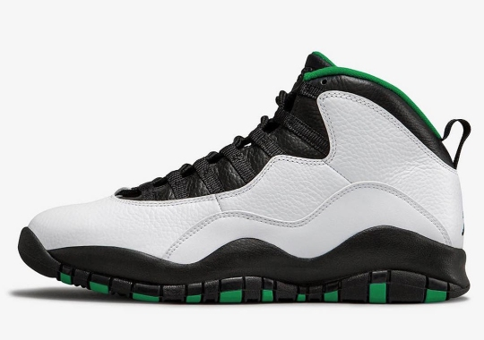 "814ae66e75acb7 Air Jordan 10 ""Seattle"" Returning In October"