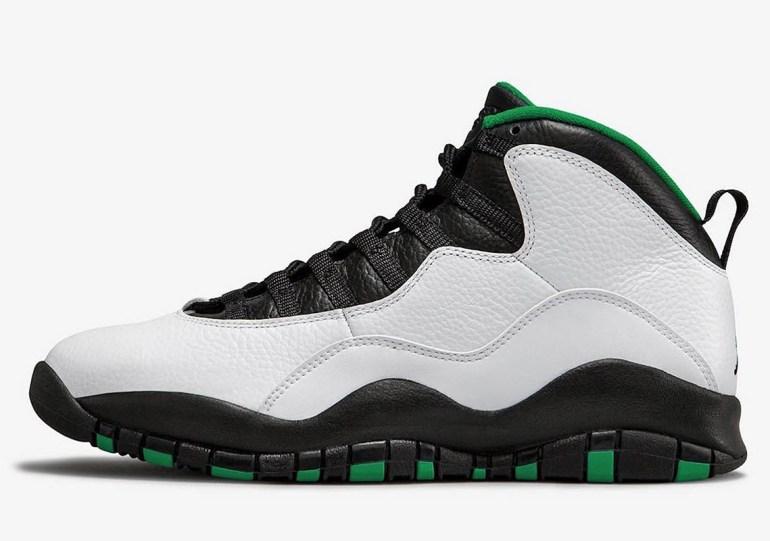 "First Look At The Air Jordan 10 ""Seattle"" Retro"