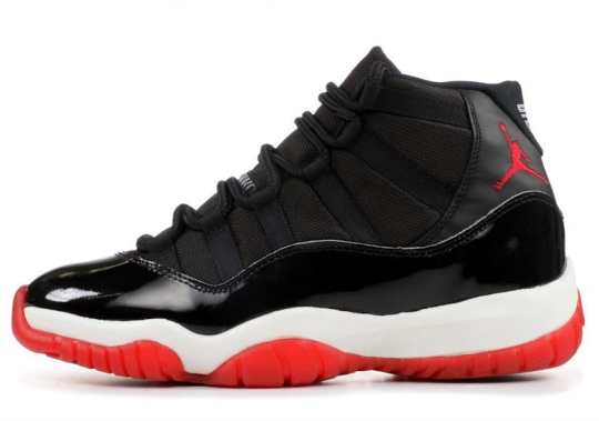 "The Air Jordan 11 ""Bred"" Is Releasing On December 14th"