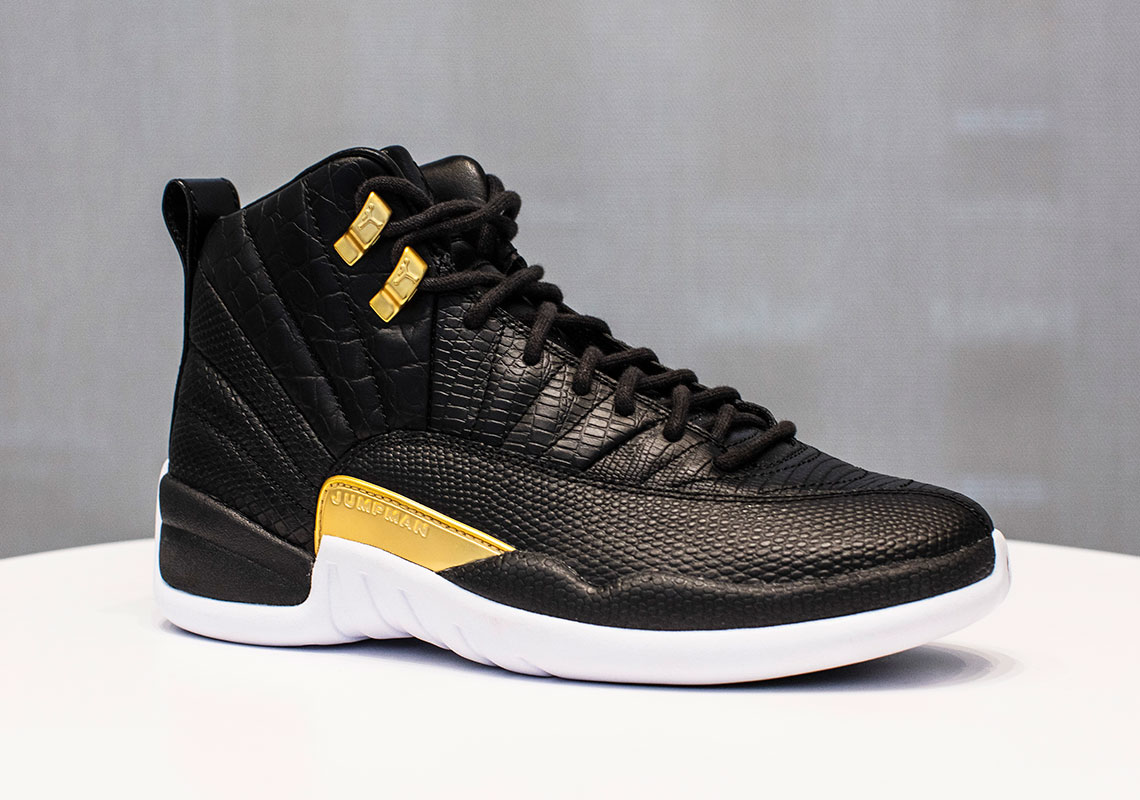 buy popular 3f9ca 0a7e2 This Women s Air Jordan 12 For Summer Features Exotic Reptile Prints
