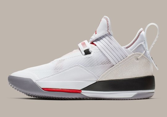 """Official Images Of The Air Jordan 33 Low """"White/Cement"""""""