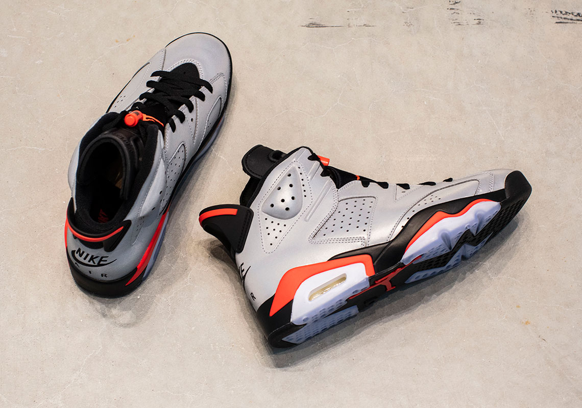 separation shoes fa028 eb0f4 Air Jordan 6 Retro SP Release Date  June 8th, 2019  225. Color  Reflect  Silver Infrared-Black Style Code  CI4072-001. Advertisement