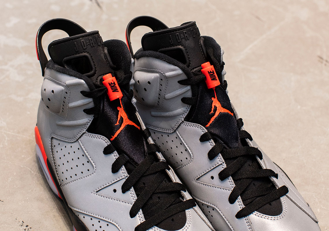 buy online 34495 9314b Air Jordan 6 Retro SP Release Date  June 8th, 2019  225. Color  Reflect  Silver Infrared-Black Style Code  CI4072-001. Advertisement. show comments