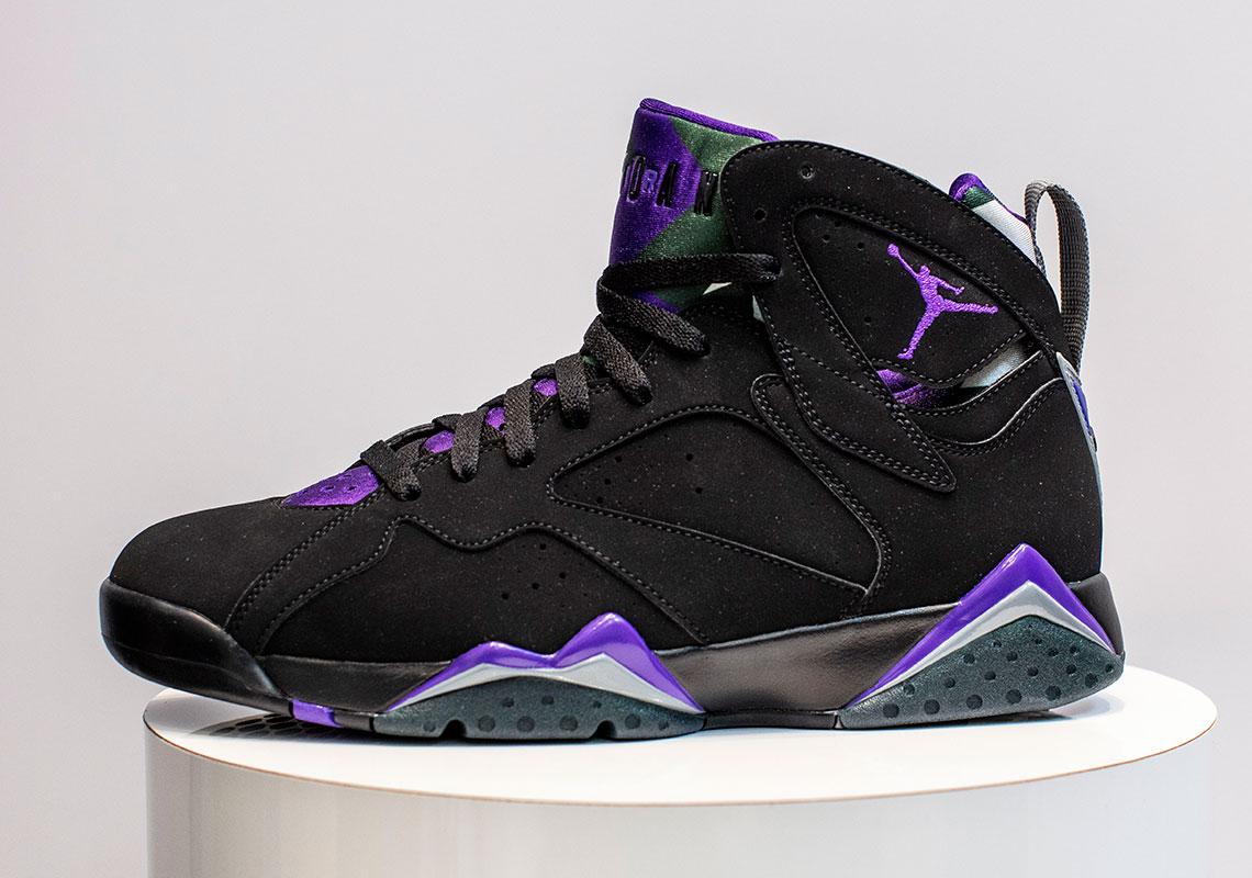 new product 2f8dd 4a8cb Jordan 7 Ray Allen Bucks PE 304775-053 Release Date   SneakerNews.com
