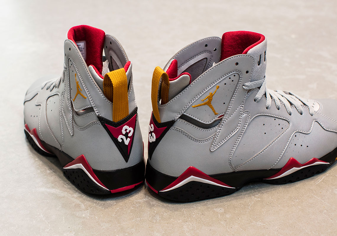 official photos c9af7 2afa2 Air Jordan 7 Reflective Silver - Release Date CI4072-001 ...