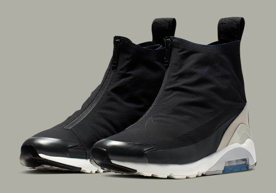 Official Images Of The AMBUSH x Nike Air Max 180 Hi In Black