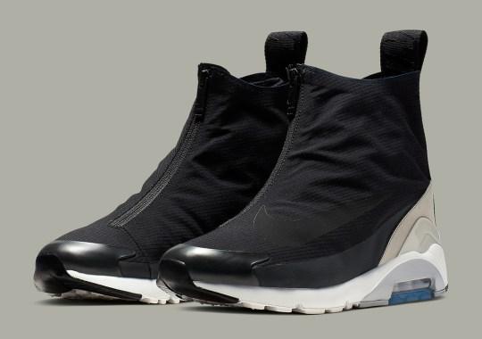 Official Images Of The AMBUSH x Nike Air Max 180 Hi In Black