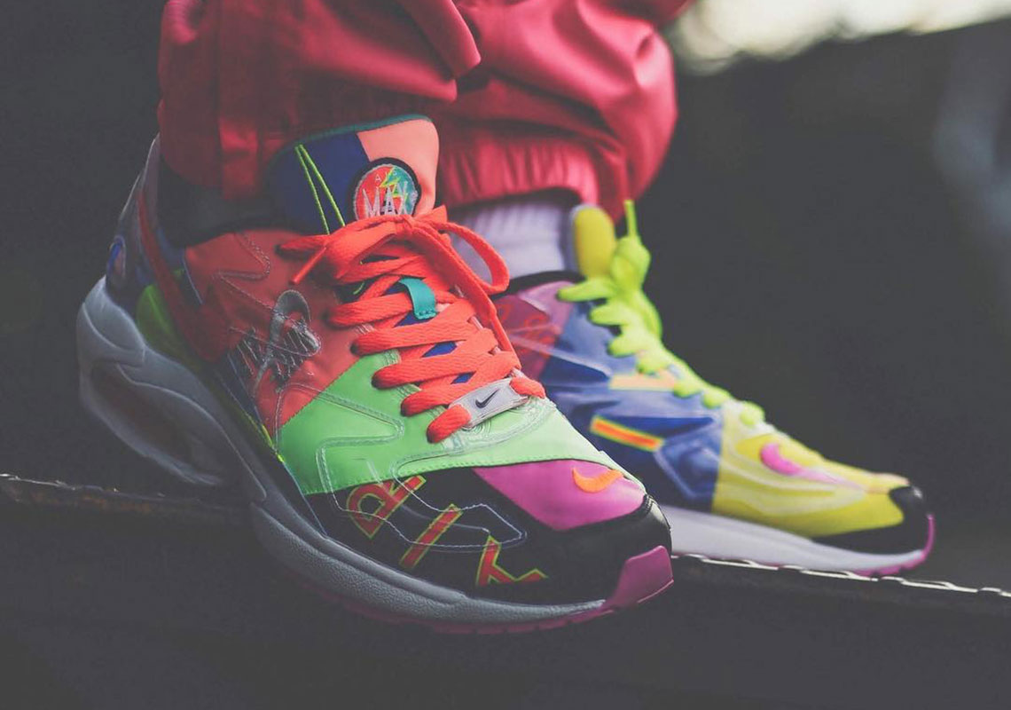 buy online 134aa a2a69 atmos x Nike Air Max 2 Light Release Date  March 23rd, 2019 ¥20,000 Yen  Style Code  CJ6200-001. Advertisement