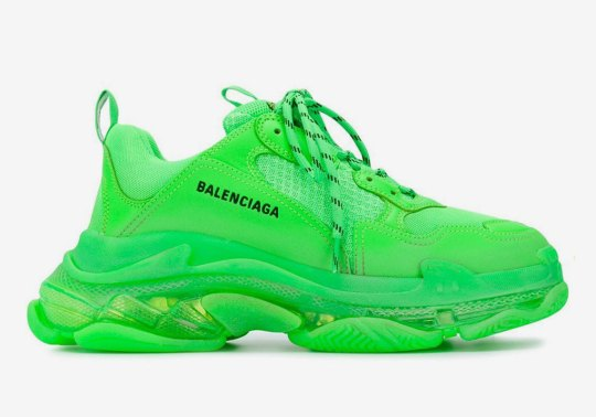 The Balenciaga Triple-S Takes Notes And Adds A Clear Bubble Midsole