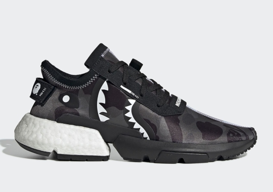 Official Images Of The BAPE x Neighborhood x adidas POD s3.1