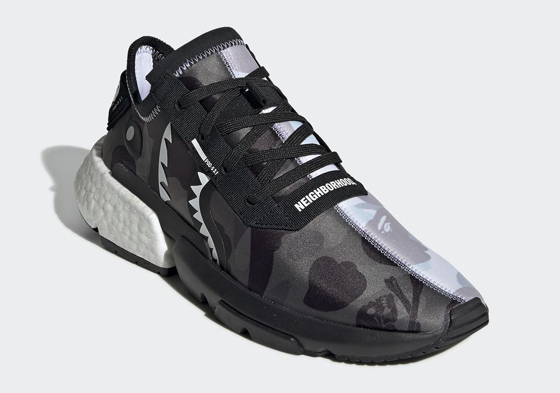 Bape Neighborhood adidas POD s3.1 EE9431 Info |