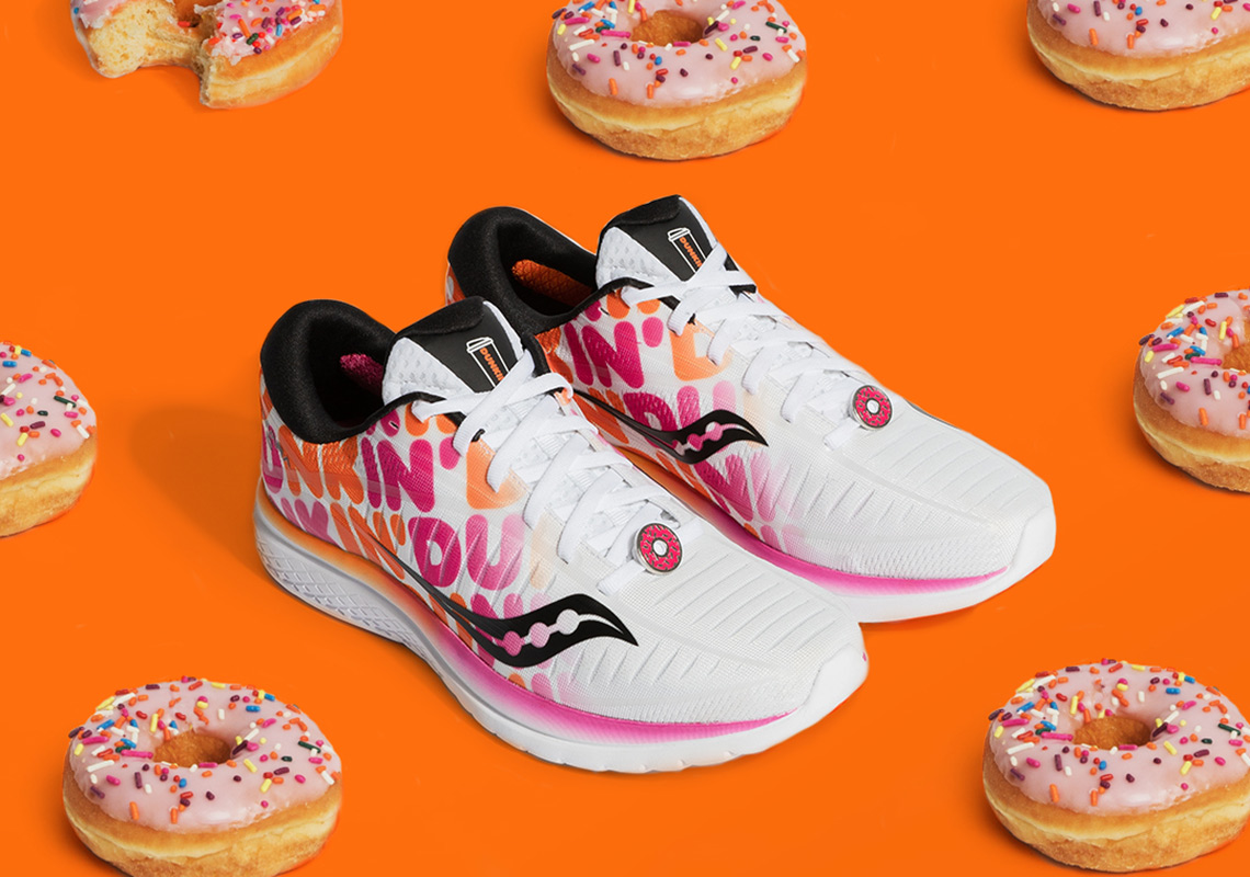 Dunkin  And Saucony Deliver Another Donut Inspired Kinvara 10 Running Shoe e1a35519e64