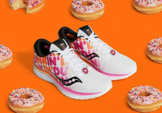Dunkin' And Saucony Deliver Another Donut Inspired Kinvara 10 Running Shoe