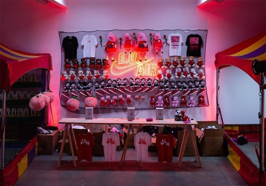 Emotionally Unavailable And Nike Host A Carnival For Air Force 1 Launch