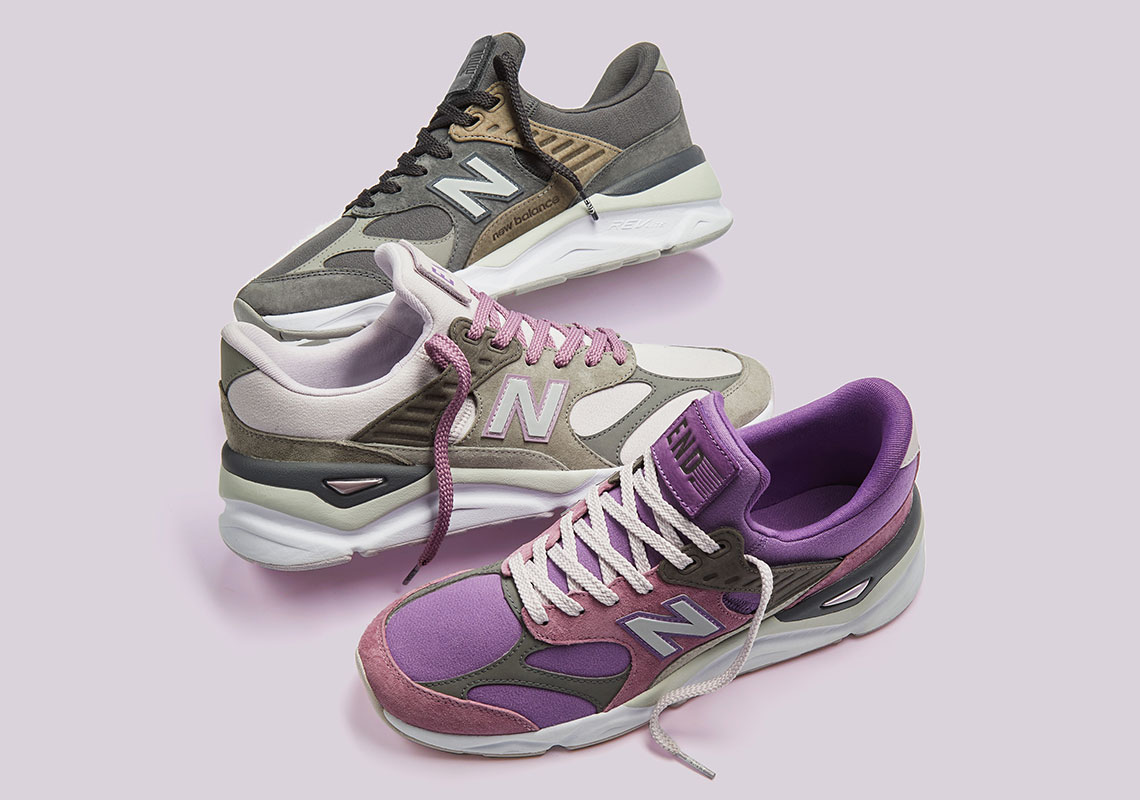 "uk availability 0fd1b 85b9e END And New Balance s X-90 ""Purple Haze"" Pack Is Inspired By Incense"