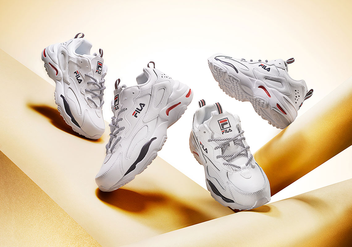 14249df4c7c7 FILA's Ray Tracer Launches in Classic New Colorway in Time For Today's Big  Trend